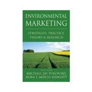9788179927465: Environmental Marketing