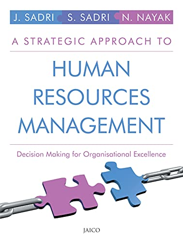 A Strategic Approach To Human Resources Management: Jayashree Sadri, Sorab