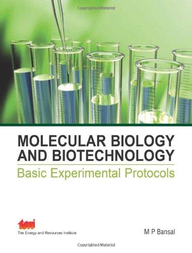 9788179933794: Molecular Biology and Biotechnology: Basic Experimental Protocols