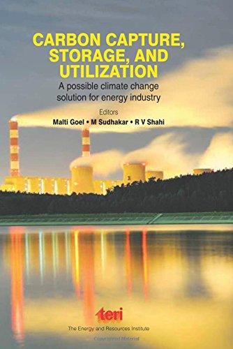 Carbon Capture Storage And Utilization: A Possible: Goel,M., Sudhakar,M. Et.Al.