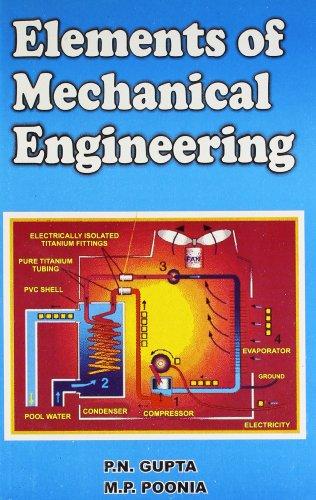 Elements of Mechanical Engineering: P.N. Gupta and M. P. Poonia