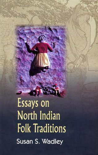 9788180280160: Essays on North Indian Folk Traditions