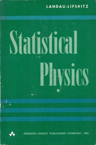 9788180304651: Statistical physics, (Their Course of theoretical physics)