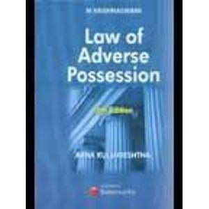 9788180380006: Krishnaswami Law of Adverse Possession