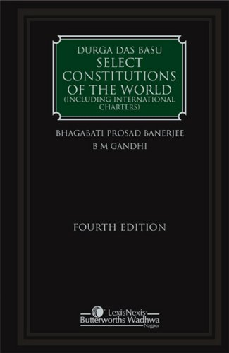Select Constitutions of the World (Including International Charters) (9788180384318) by Durga Das Basu