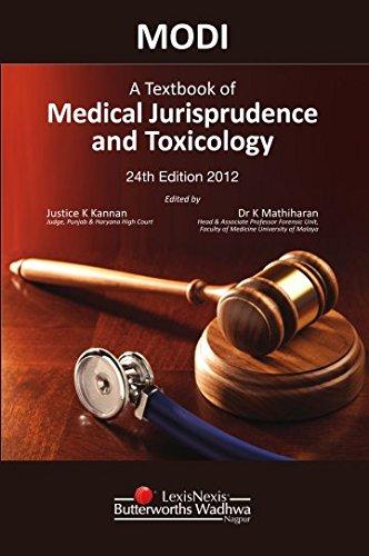 MODI A Textbook of Medical Jurisprudence and: K. Kannan and