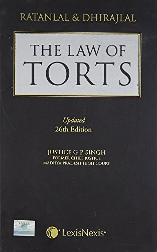 The Law of Torts, Twenty Six Edition: G.P. Singh