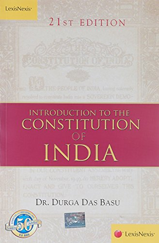 9788180389184: Introduction to the Constitution of India 21st Edition