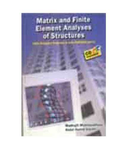 9788180520754: Matrix and Finite Element Analyses of Structures