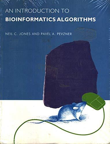 9788180520785: Introduction to Bioinformatics Algorithms