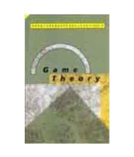 Game Theory: Drew Fudenberg,Jean Tirole