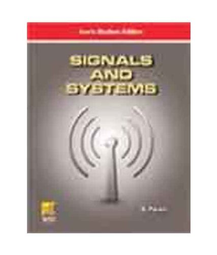 Signals and Systems: S. Palani