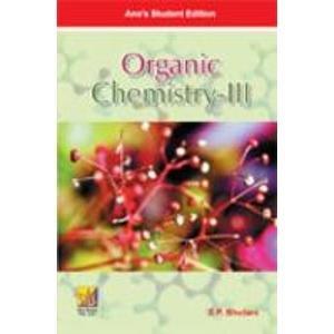 9788180522734: Organic Chemistry: v. III