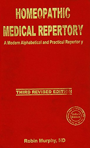 9788180560798: Homeopathic Medical Repertory