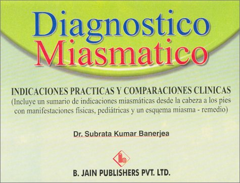 9788180561283: Diagnostico Miasmatico