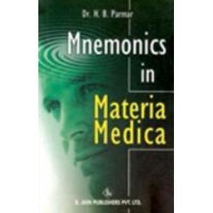 9788180561924: Mnemonics in Materia Medica