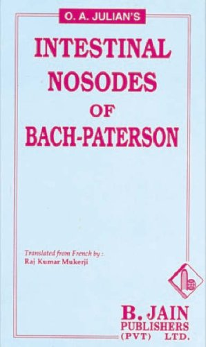 9788180562662: Intestinal Nosodes of Bach Paterson