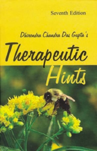 9788180565830: Therapeutic Hints