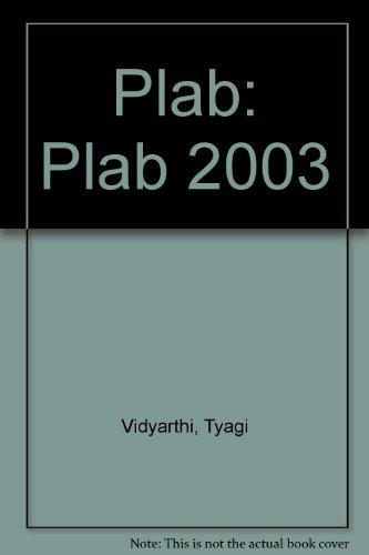 9788180610301: Plab: Plab 2003