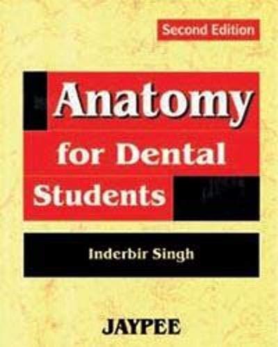 Anatomy for Dental Students: Inderbir Singh