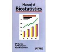 Manual of Biostatistics: J.P. Baride,A.P. Kulkarni,R.D.