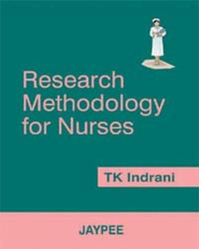 9788180614194: Nursing Research and Methodology