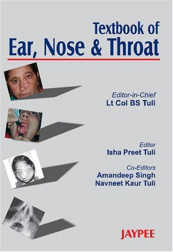9788180614460: Textbook of Ear, Nose and Throat