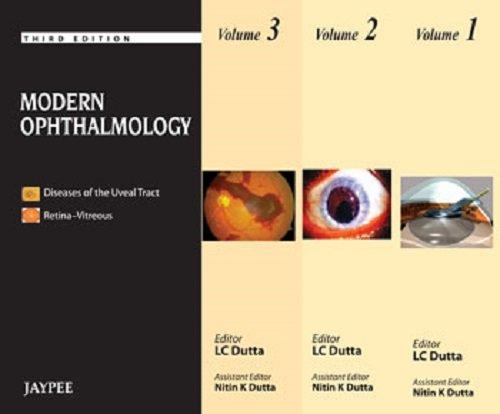 Modern Ophthalmology (3 Vols): Dutta