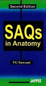 9788180615351: SAQs in Anatomy