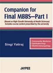 9788180617485: Companion for 1st MBBS