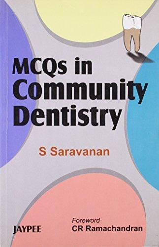 9788180618352: MCQs in Community Dentistry