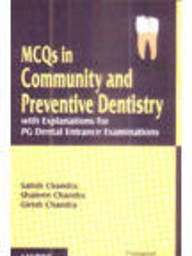 Mcqs In Community And Preventive Dentistry With: Chandra