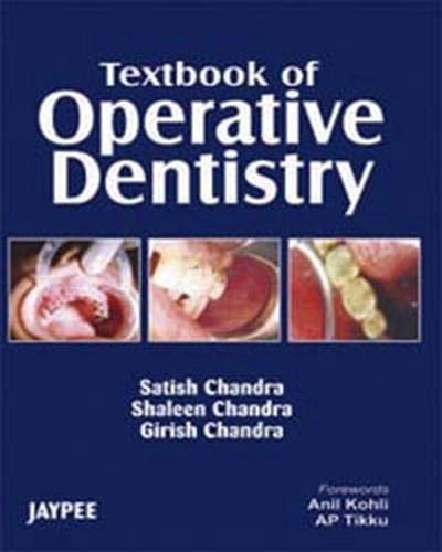 9788180618932: Textbook of Operative Dentistry