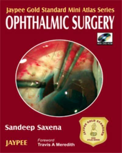 9788180619847: Ophthalmic Surgery (Jaypee Gold Standard Mini Atlas Series)