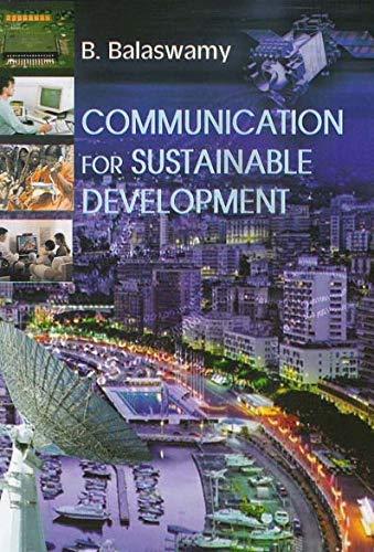 Communication for Sustainable Development: B. Balaswamy