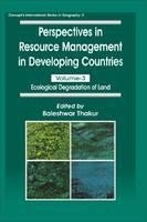 Perspectives in Resource Management in Developing Countries: Baleshwar Thakur
