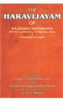 The Haravijaya of Rajanaka Ratnakara With the: Pandit Durgaprasad and