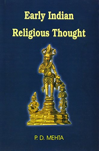 9788180901188: Early Indian Religious Thought