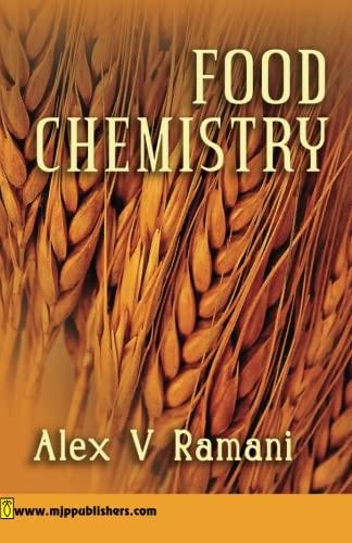 Food Chemistry: Alex V. Ramani