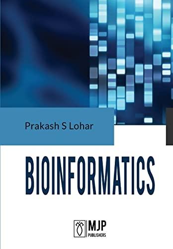 Bioinformatics: Prakash S. Lohar