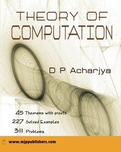 9788180940767: Theory of Computation
