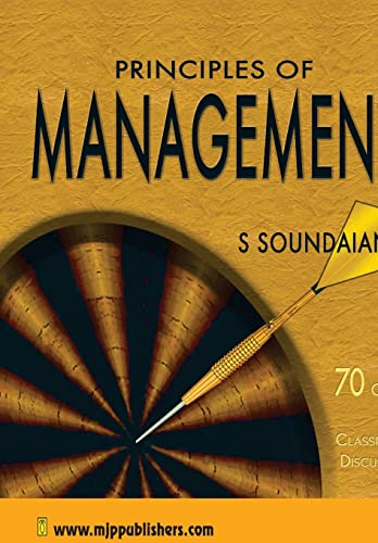 9788180940958: Principles of Management