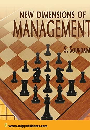 New Dimensions of Management: S. Soundaian