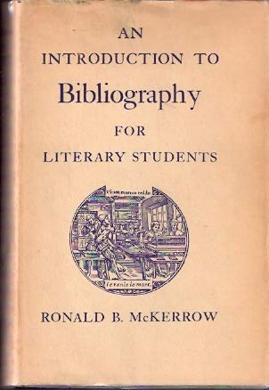 9788181031167: An introduction to bibliography for literary students,