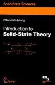 9788181282378: INTRODUCTION TO SOLID STATE THEORY (SOLID-STATE SCIENCES)