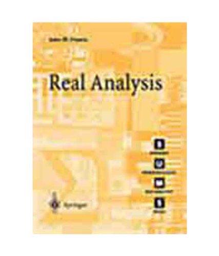 9788181282637: Real Analysis