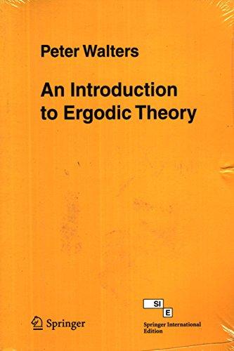 9788181283016: An Introduction to Ergodic Theory