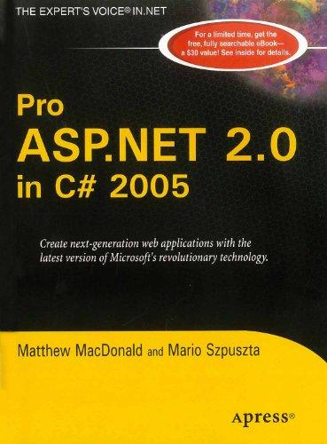 Pro ASP.NET 2.0 in C# 2005: Matthew MacDonald