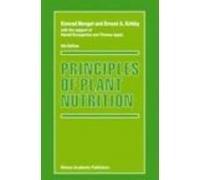 Principles of Plant Nutrition 5th edn (PB): Mengel, Konrad &