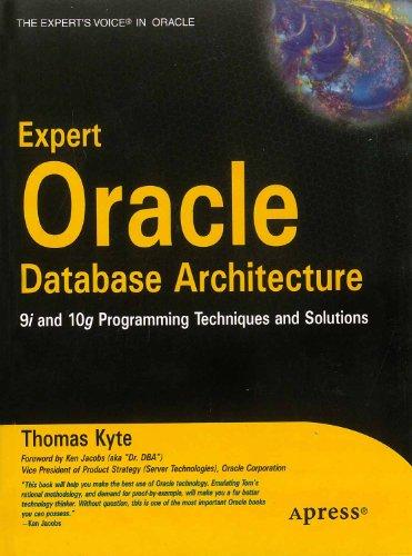 9788181284259: Expert Oracle Database Architecture 9I & 10G Programming